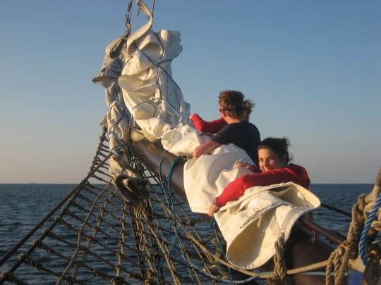 mitsegeln an Bord Oban
