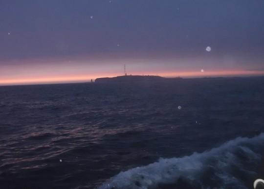 Nachts segeln