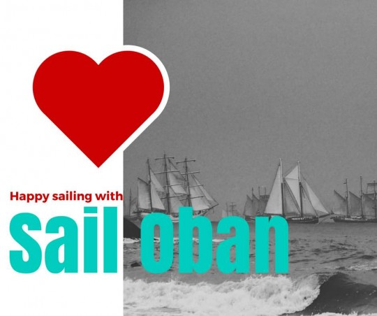 happy sailing sail oban