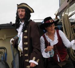 Silberhochzeit Piraten an Bord Oban