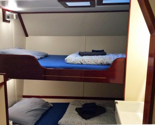 breite Betten ZweierKabine