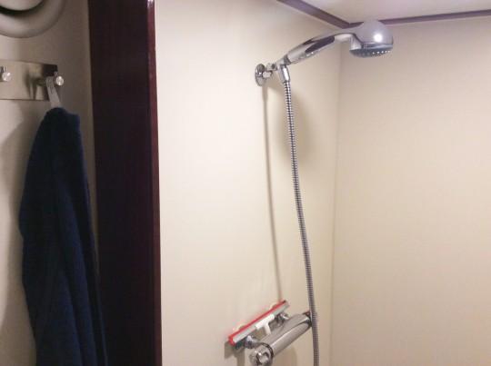 geraümiche Dusche
